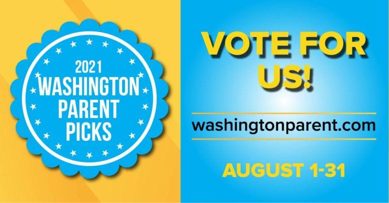 Vote for Create Calm for 2021 Washington Parent Picks